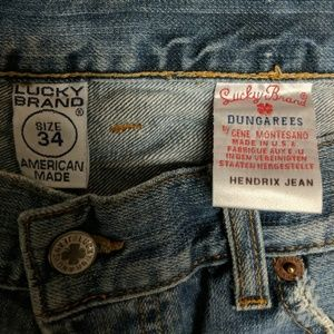Lucky Brand Dungarees Hendrix Jean